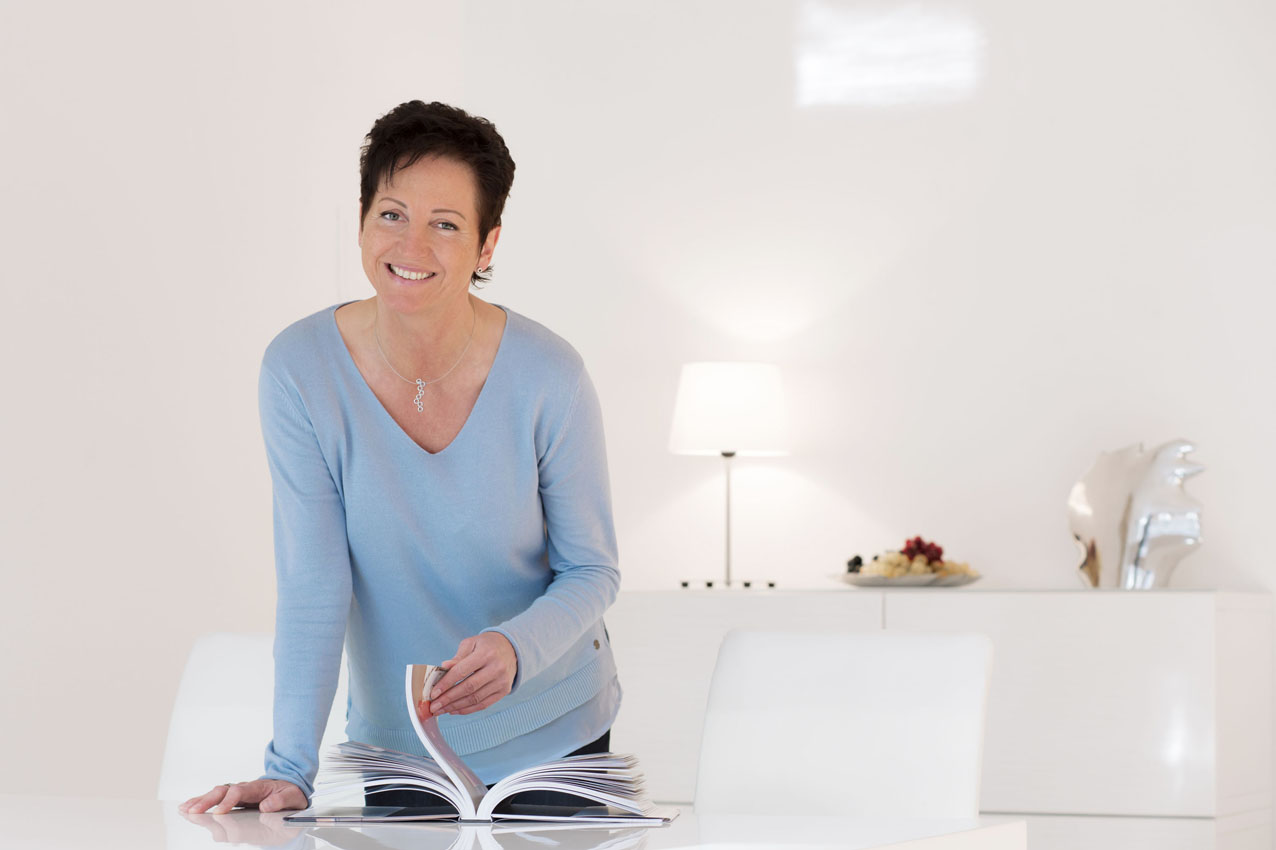 Portrait Businessfrau Home staging