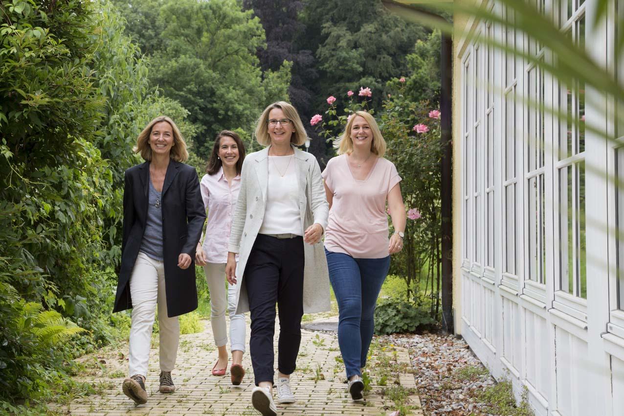 Teamfoto Business Frauen